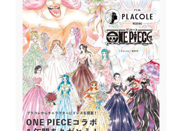 【1年間ありがとう!】大人気アニメ「ONE PIECE(ワンピース)」とプラコレのコラボドレス企画、12キャラクター全員集合!&325(サニー号)名様にクリアファイルをプレゼント!